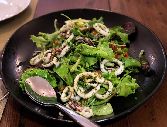 Salade de chipirons