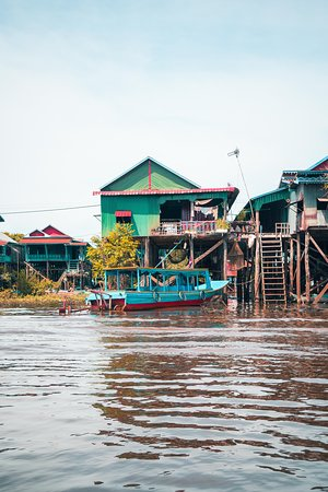 2 Day private tour: Small tour, Big tour, sunrise and sunset,floating village.: At the floating villiage
