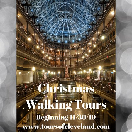 Tours of Cleveland, LLC: Christmas Walking Tours begin after Thanksgiving!