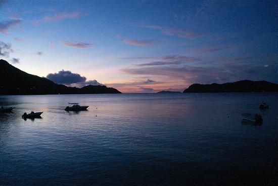 Sunset at Anse Possession
