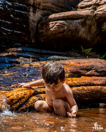 Theozinho curtindo a natureza