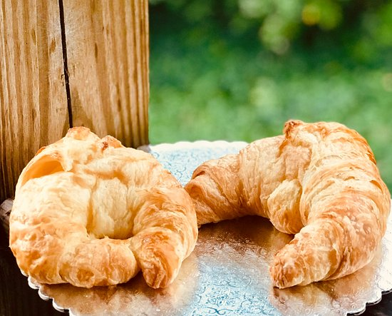 Buttery, Flakey croissants.