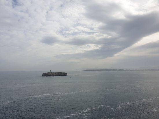 Isla de Mouro, vista desde la península.