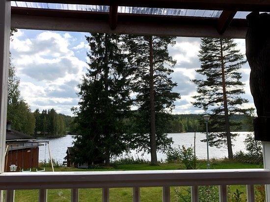 Rautalampi, Suomi: Patio view