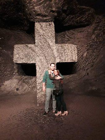 Visit at Catedral de Sal in Zipaquira