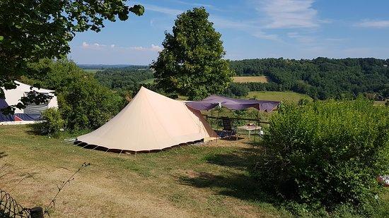 Rouffignac-Saint-Cernin-de-Reilhac, Fransa: Emplacement camping