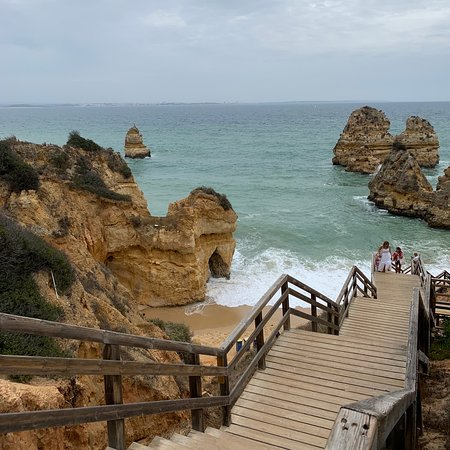 """One of the most underrated and beautiful places in the world— Lagos, Portugal! A city with a lot of heart that isn't too touristy and has a lot to offer. Perfect for those who love the beach, love to eat and want to enjoy great night life too! For hostel goers, I highly recommend """"Bura Surfhouse""""— extremely clean, safe and filled with great staff. For restaurants, I recommend """"Beats and Burritos"""", """"Coffee and Waves"""" and """"Baffi"""". Cannot rave about the beaches enough! I will be back soon!!"""