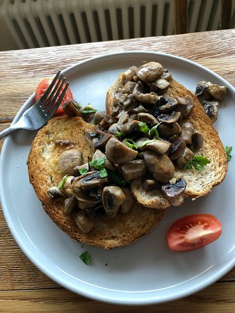 Mushrooms & Thyme  On toast