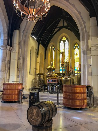 Pearse Lyons Whiskey Distillery: Interactive Tour and 4 Whiskey Tastings: Inside the Pearse Lyons Distillery.