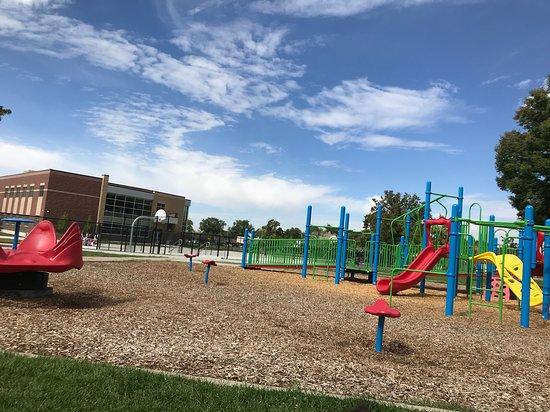 Ogden, UT: wheelchair ramp on playground