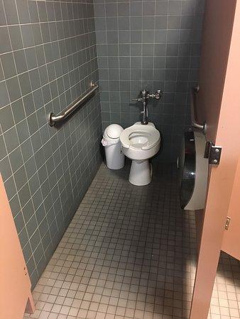Women's Handicap Restroom Stall.
