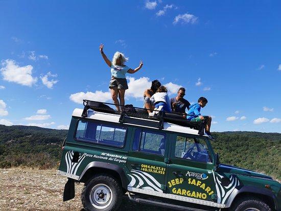 Jeep Safari di Agrifoglio tour
