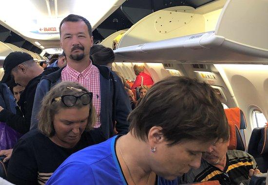 Aeroflot: Бедлам и порядок – 91. Рейс Тиват (Черногория) – Москва. Сентябрь 2019 г.
