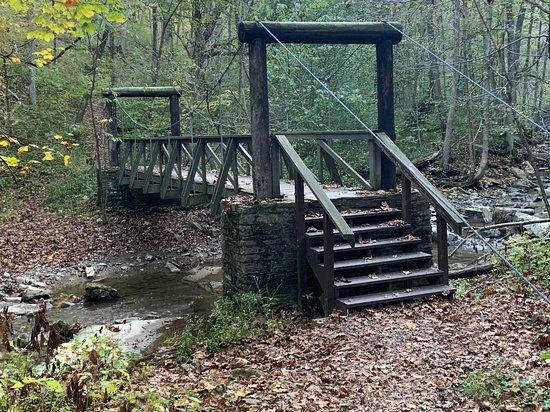 Second suspension bridge