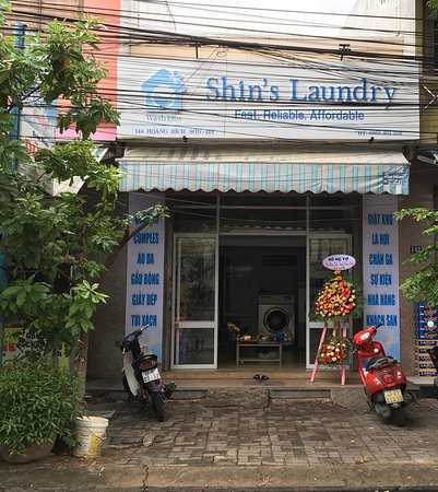 Da Nang, Vietnam: Shin's Laundry Add: 144 Hoang Bich Son Str, Son Tra Dis, Danang ✅ Washing clothes It costs from 15k/kg . Free delivery and pick up ( > 3kg) Shin sures that : Using good washing powder and water softener : Omo, comfor, downy... Each person uses seperate washing machine and dryer ✅ Washing shoes  ✅ Washing blanket  Guests can choose your favorite water softener and pick up same day ✅ Washing teddy bear  ✅ Hotel and spa 👍👍👍♥️♥️♥️ We always bring to your good experience