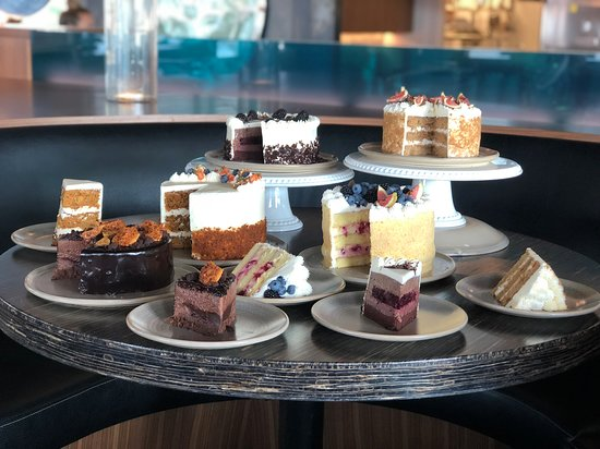 Cakes! Yes you can order one of these lovelies - for dining with us or to take home