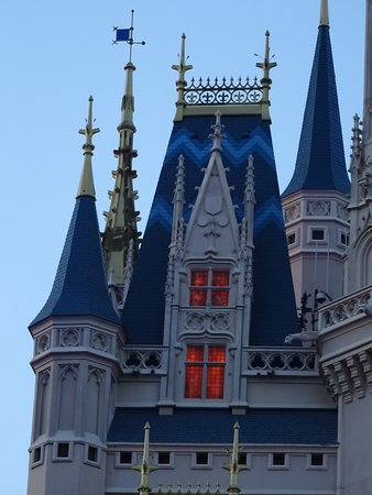 The use of colour just adds to the look and feel of the castle