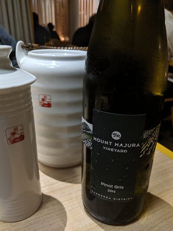 Lilotang: Sake and wine - not driving home, hotel was 50m away