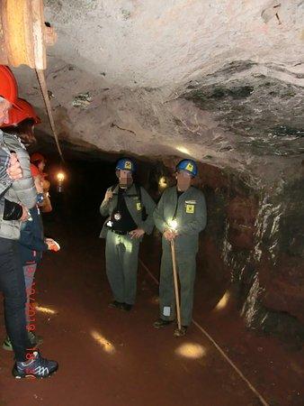 Die Bergwerksführer - gut ausgebildet.