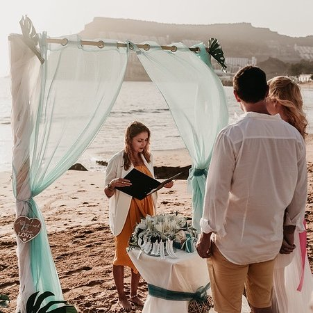 La Playa de Tauro, España: Boldogság❤️Szerelem❤️