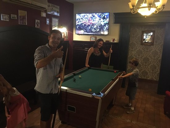 Pool table and league @thethirstymonk