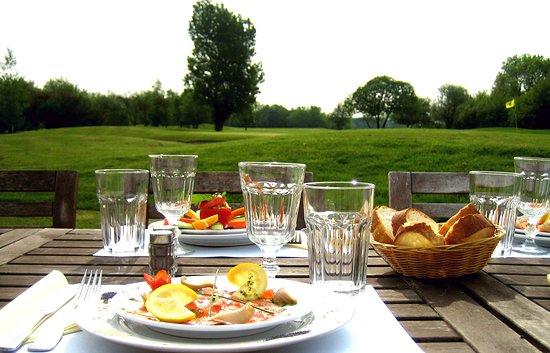 Guerville, Frankrike: Photo de la terrasse du restaurant du golf