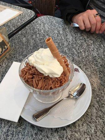 Le Mazot: Vermicelli dessert.