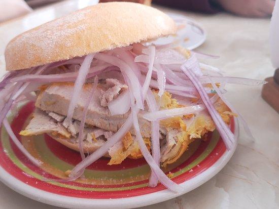 La Punta, Peru: Don Giuseppe, todo delicioso