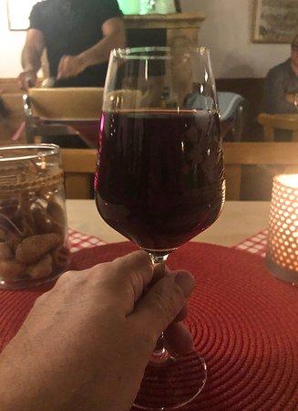Die offenen Weine sind von guter Qualität