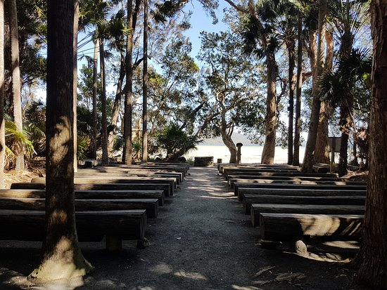 Booti Booti, Australia: Green Cathedral Wedding Chapel