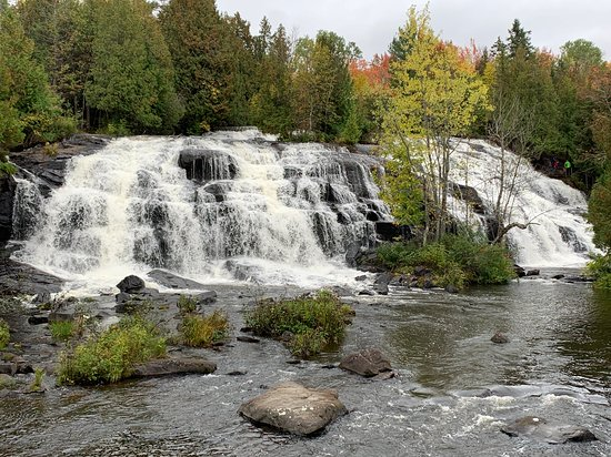 Paulding, MI: Left side of Bond Falls.