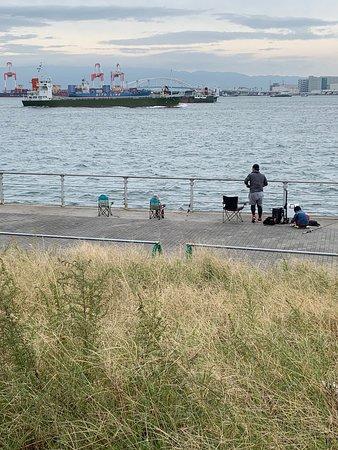 大阪湾です。