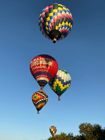 McKinney, TX: We had a total of 5 balloons go up when we had our flight