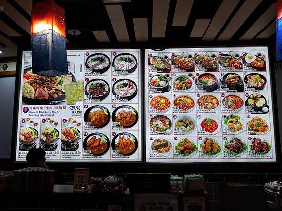 Korean Food Picture Of Hillion Mall Singapore Tripadvisor