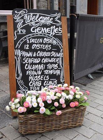 Restaurant Gemelles on Quay Street, Galway.
