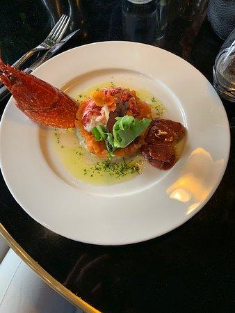 Augustin Bistrot: Salade de homard bleu, fenouil, tomate, huile vierge