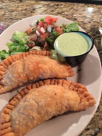 Don't miss the shrimp empanadas
