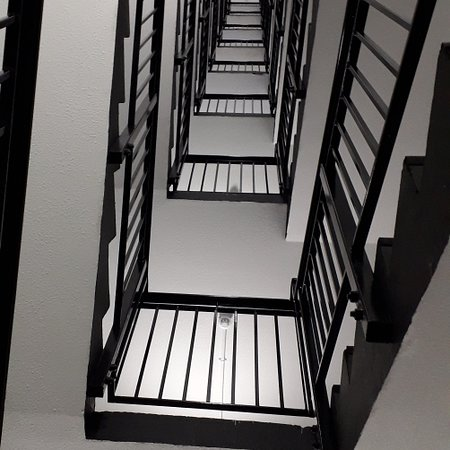 Stairway to Heaven (well our room)