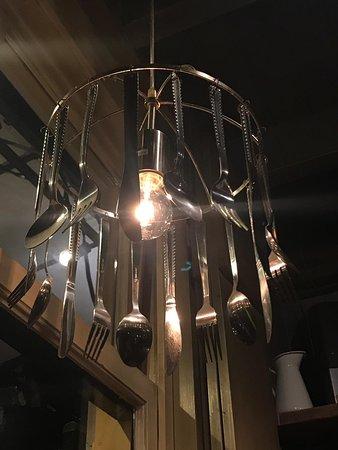 Verbazingwekkend Geweldige lamp;-) - Picture of De Open Keuken, Hilversum - Tripadvisor JM-49