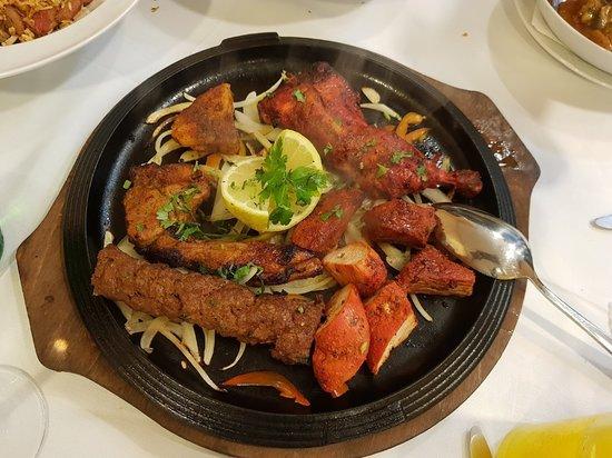 TANDOORI MIX GRILL MEAT