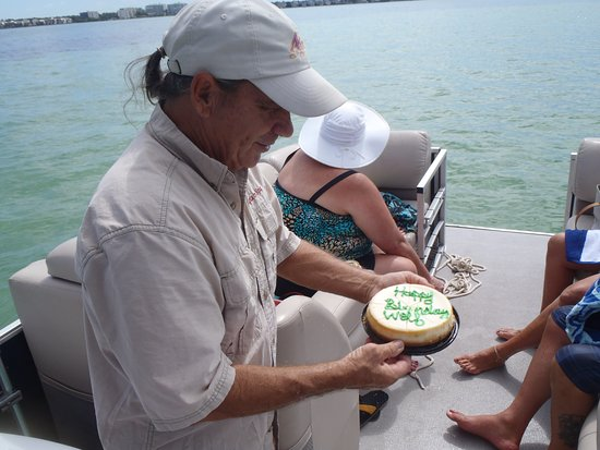 Gulfside Adventures: Birthday Cake.