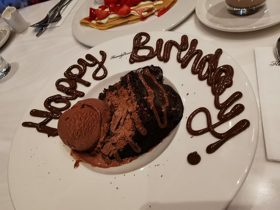 Phenomenal Birthday Girls Chocolate Fudge Cake Picture Of Heavenly Funny Birthday Cards Online Alyptdamsfinfo