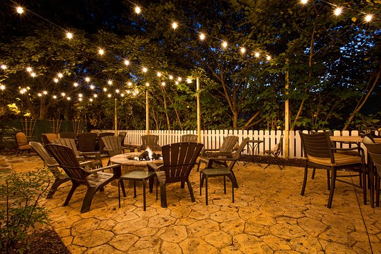 Roswell, GA: Intimate Fire Pit Area