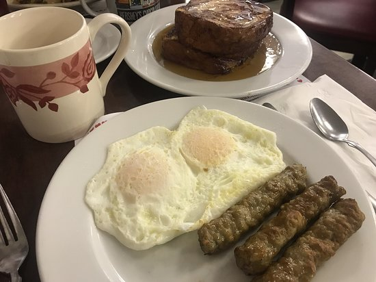 The Red Cottage: French Toast Breakfast