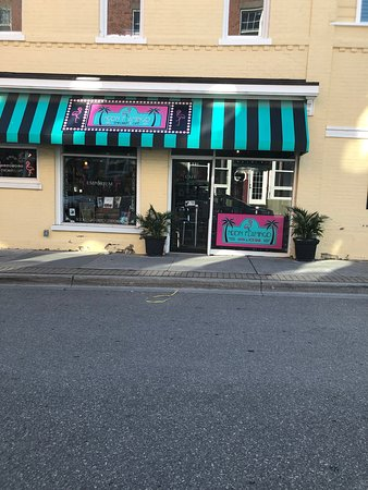 One of the many businesses on Main Street!