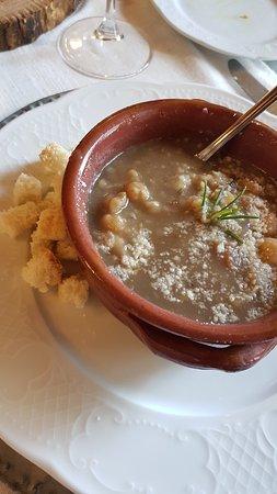 zuppa ceci castagne