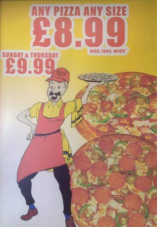 The Pizza Man Southend On Sea Restaurant Reviews Photos