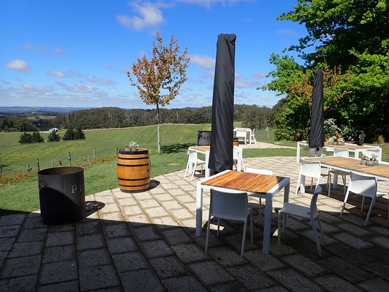 Pike and Joyce, Adelaide Hills: View from the winery