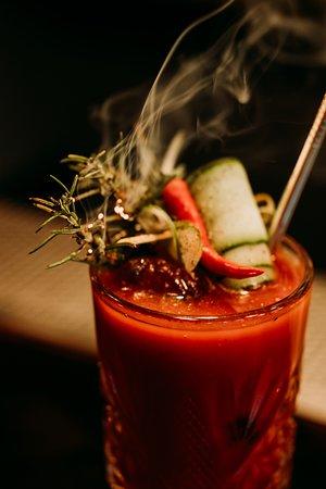 Red Snapper - nuestra version de Bloody Mary. Delicioso!