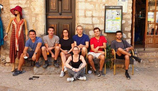 Equipe Aout 2019 du Logis des Pénitent